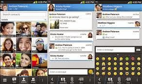 BBM screen shots- Play Store