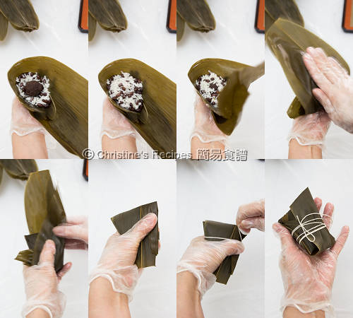 Glutinous Rice Dumplings with Red Bean Fillings Procedures02