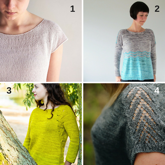 Spring jumper knitting pattern