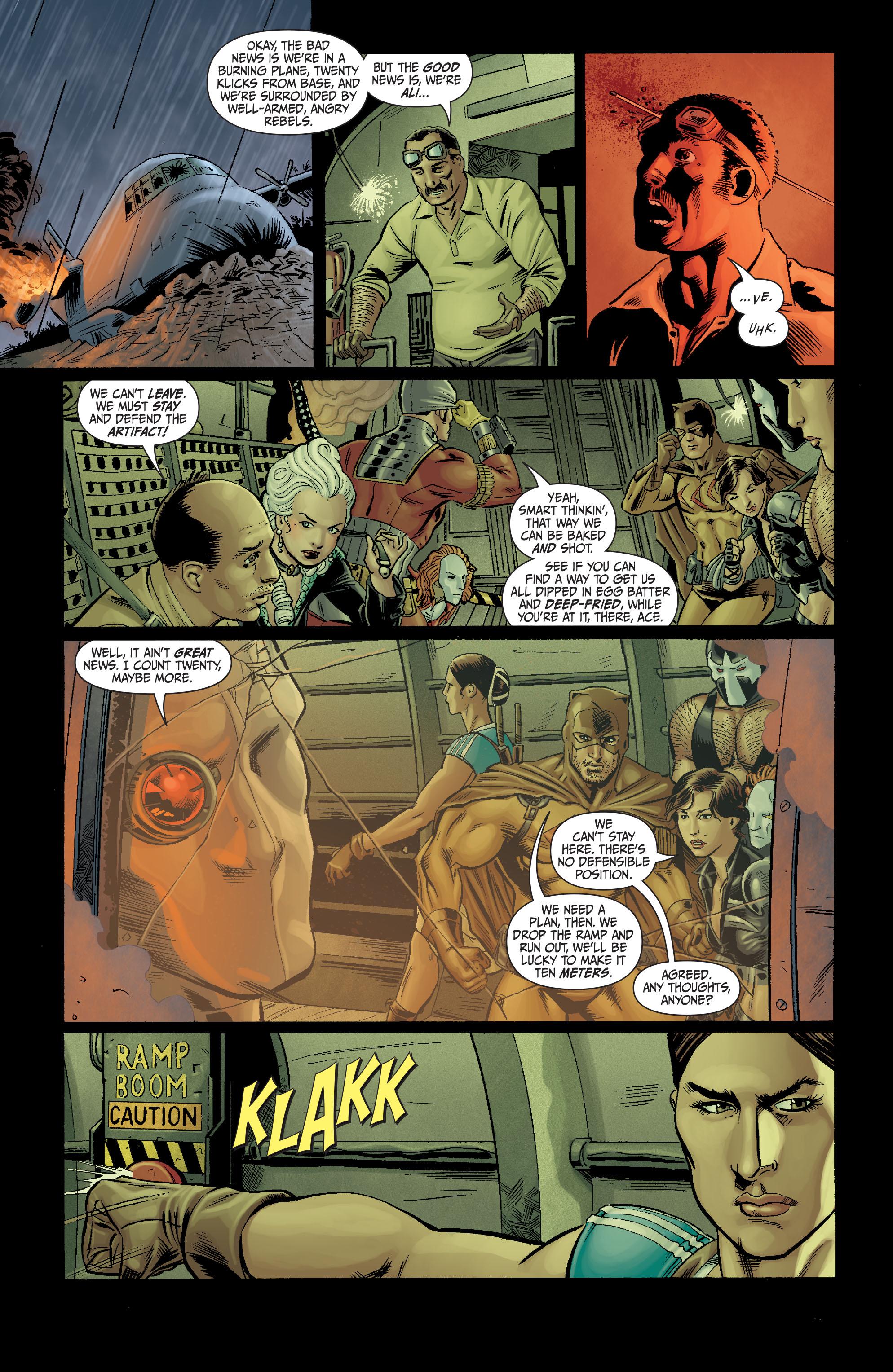 Read online Secret Six (2008) comic -  Issue #10 - 18