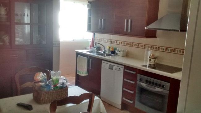 piso en venta calle herrero castellon cocina