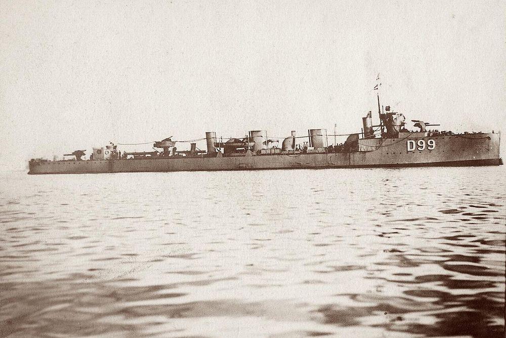 HMS Zubian.