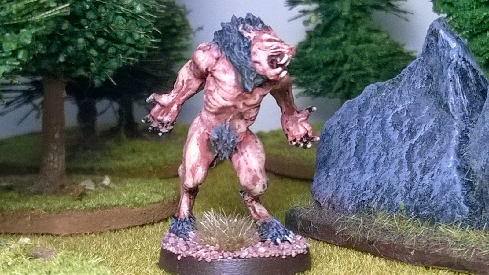 open combat wargame second thunder werewolf 28mm figure