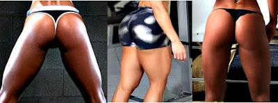 Rutina ejercicios cola grande tonificada gym