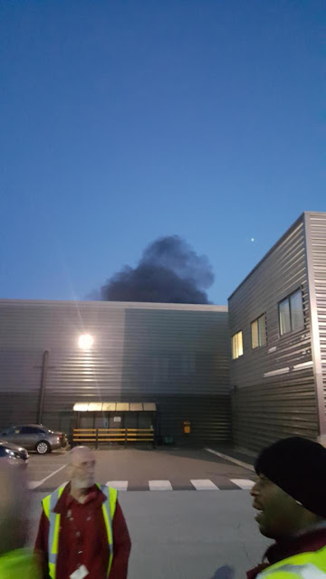 Over 60 firefighters deal with major blaze at Bradford factory