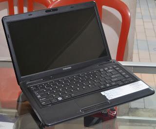 Laptop Toshiba Satellite C640 Bekas