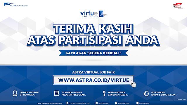 Mudahnya Melamar Pekerjaan Secara Online dengan Astra Virtue