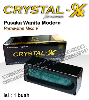 CRYSTAL-X NASA for women Rp.200.000,-