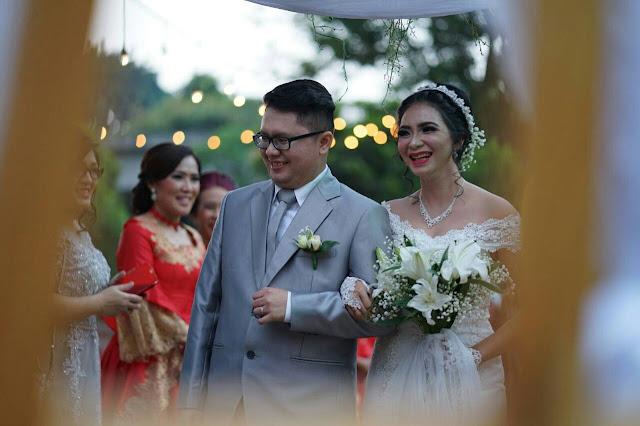 foto pernikahan dennis dan vania jakarta