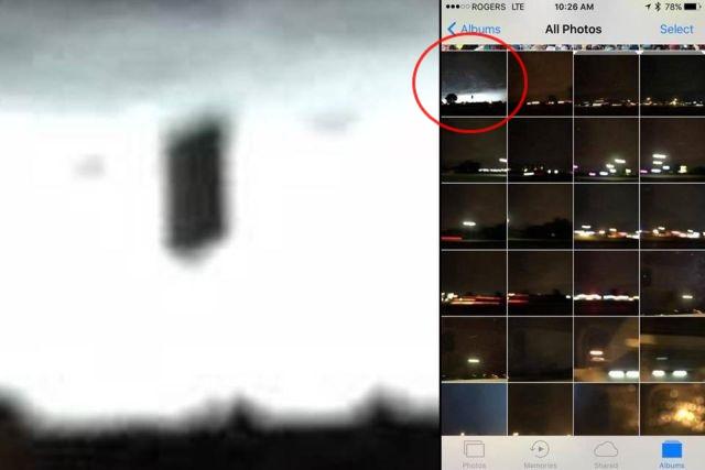 Black%2BSquare%2BUFO%2BCouds%2B%25282%2529 Ovni cuadrado negro aparece de las nubes sobre Wisconsin