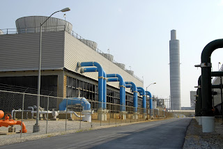 power plant with wireless process control