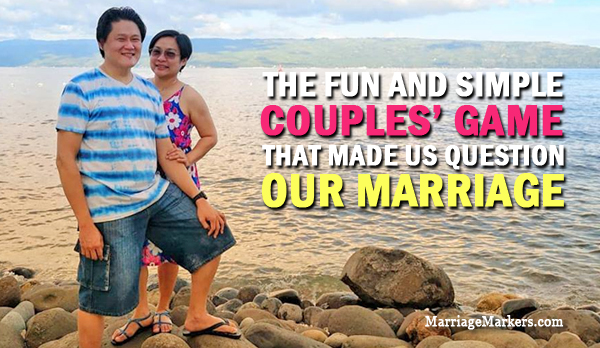 couple's game - marriage - family travel- Cana Retreat - love - couple's portrait - marriage advice - family - Bacolod mommy blogger - Bacolod blogger