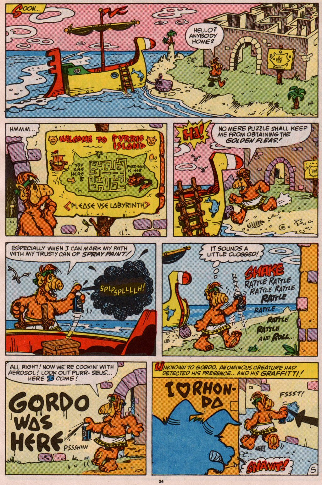 Read online ALF comic -  Issue #5 - 20