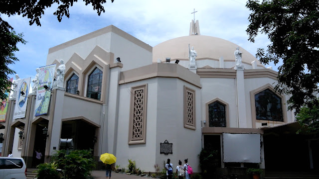how to go to antipolo church