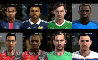 PES 2013 Facepack vol.6 by bradpit62