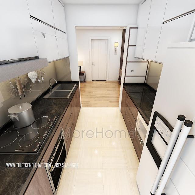 Gợi ý cách thiết kế nội thất nhà bếp tiết kiệm và đẹp 3