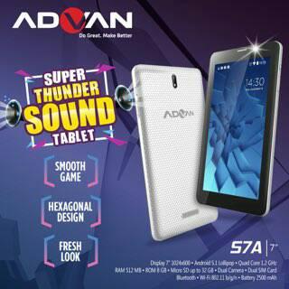 Cara Instal Ulang Tablet Advan S7A Via PC - Mengatasi Bootloop