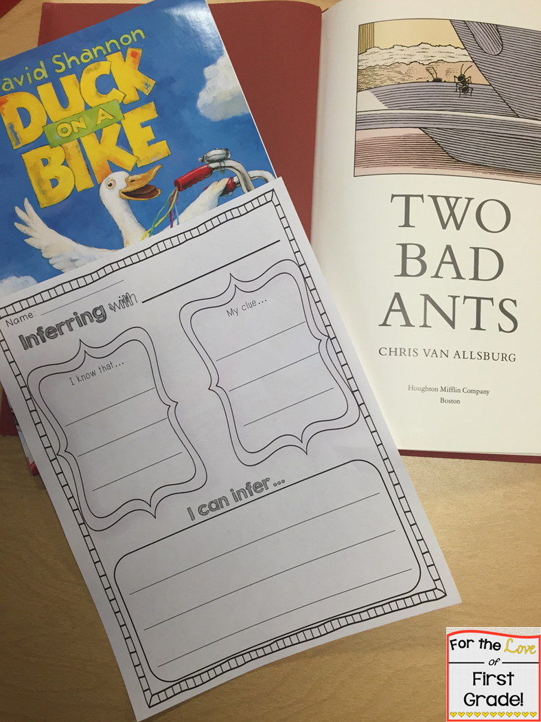 for the love of first grade  responding to literature