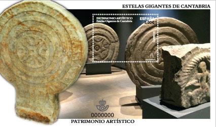 Estelas gigantes de Cantabria