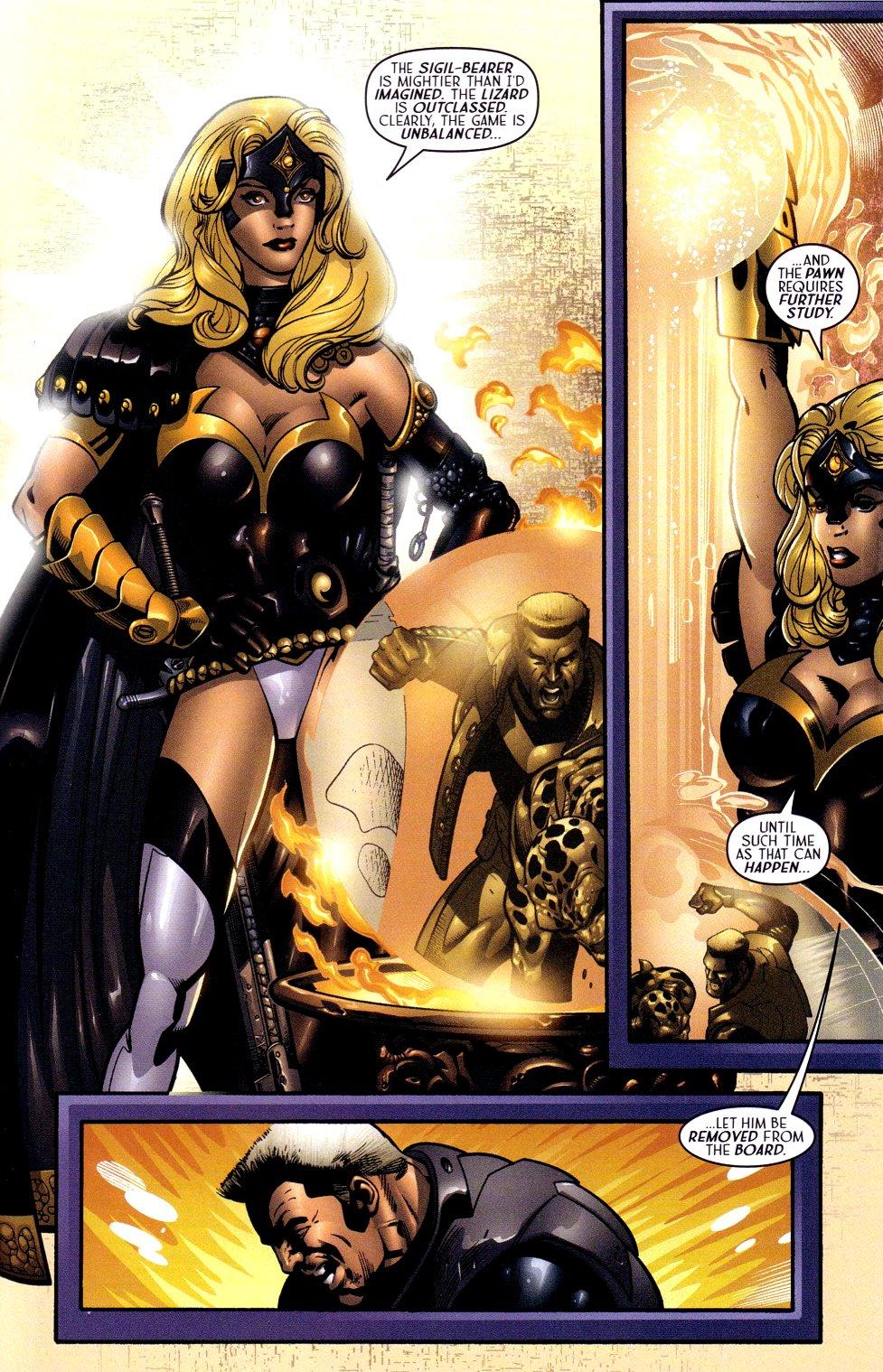 Read online Sigil (2000) comic -  Issue #16 - 17