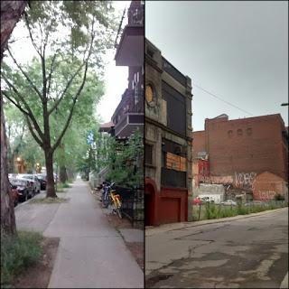 Montréal Villeray centre-ville décor