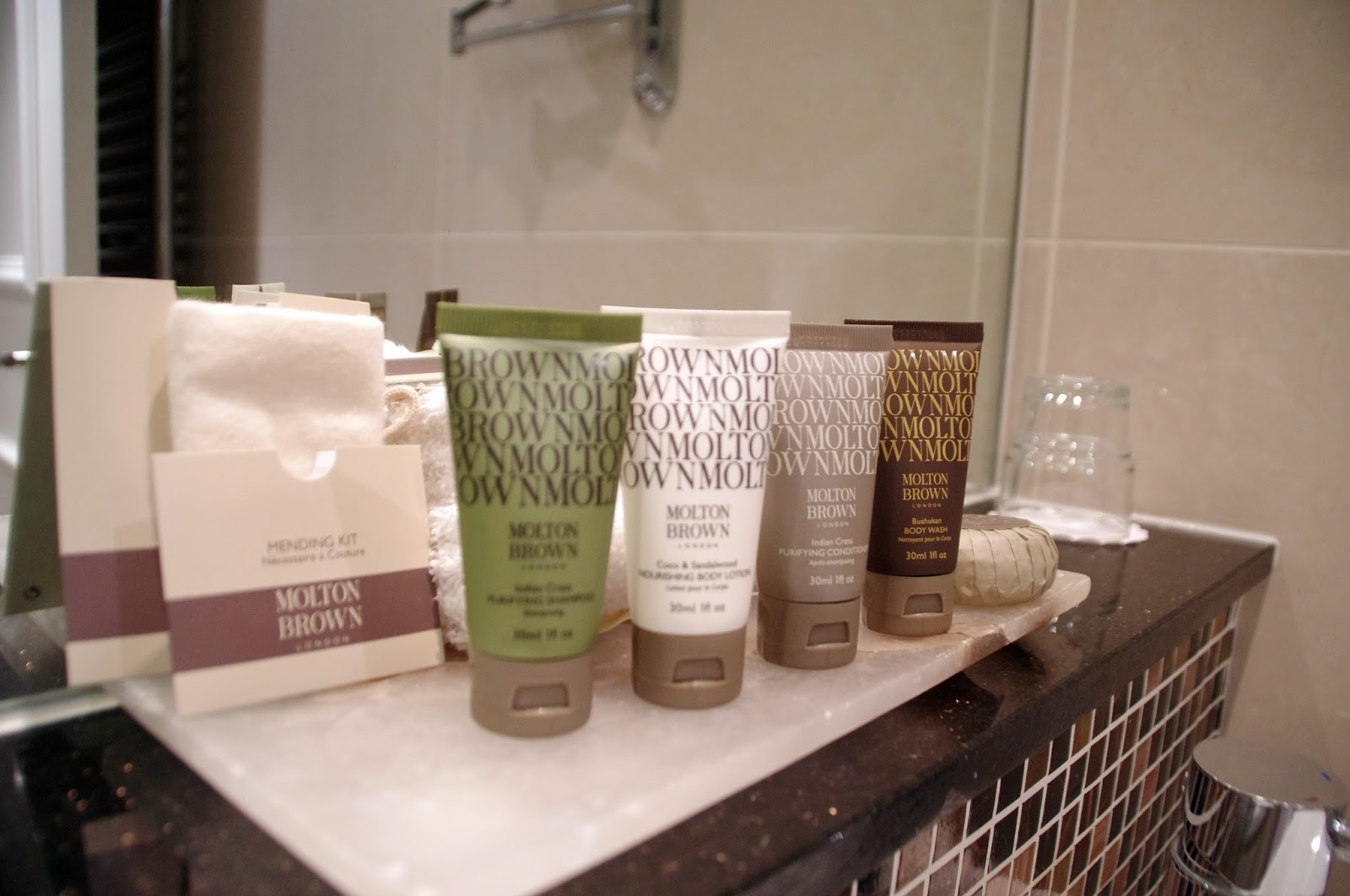 Beaufort House Knightsbridge Apartment Toiletries