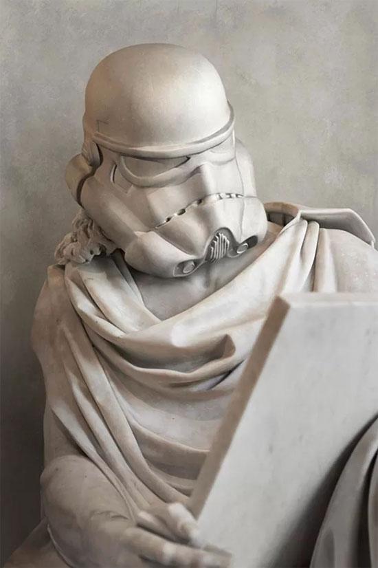 Star Wars Estátuas gregas - Stormtrooper