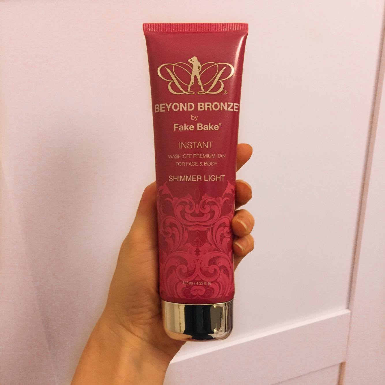 fake bake beyond bronze self tanning instant lotion