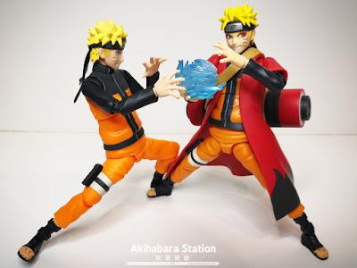 "Figuras: Review del S.H.Figuarts ""Naruto Uzumaki - Sage / Sennin Mode Advanced Version"" de Tamashii Nation"
