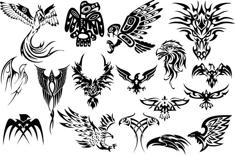 tattoo designs tribal eagles