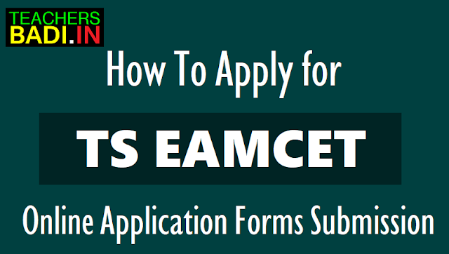 how to apply for ts eamcet
