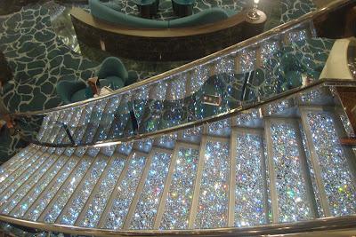 Escadaria em cristais Swarovski