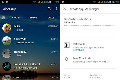 Whatsapp Mod Transparan V.2.18.93 Apk