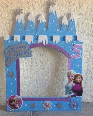 Fet A Ma Diy Fiesta De Cumpleanos Frozen