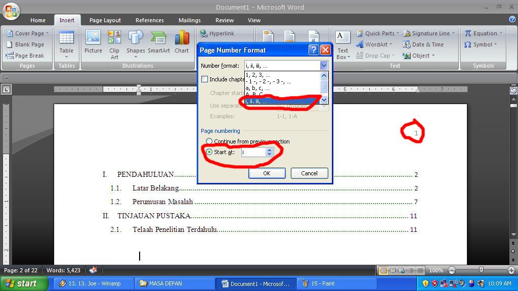 Membuat Daftar Isi Secara Otomatis Pada Ms Word 2007 Under