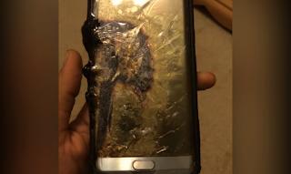 Samsung okostelefon felrobban