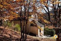 L'oratorio all'alpe Blitz in autunno
