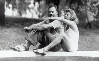 Eernest Hemingway and Martha Gellhorn