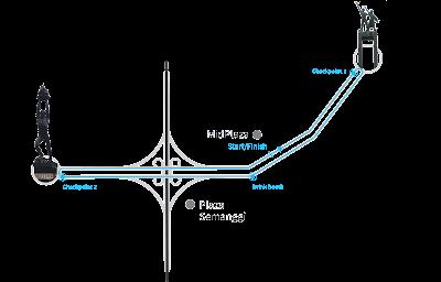 Rute 10k 10km VT Run 2016 Veritrans Jakarta jenderal sudirman bundaran hi hotel indonesia midplaza plaza semanggi plaza senayan