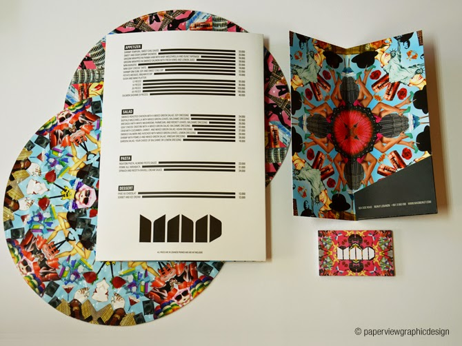 This is how you design a menu for the Lebanese & Middle Eastern market - MAD menu by Paperview Design