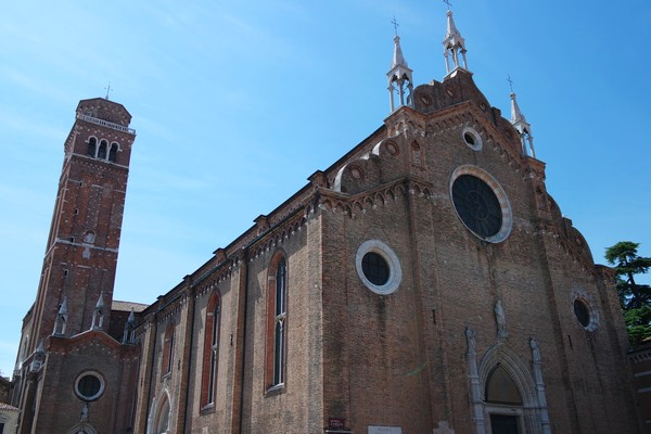 venise italie san polo église frari