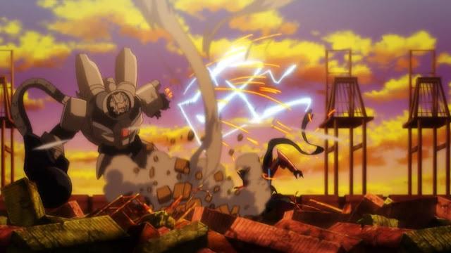 Mech w anime Regalia