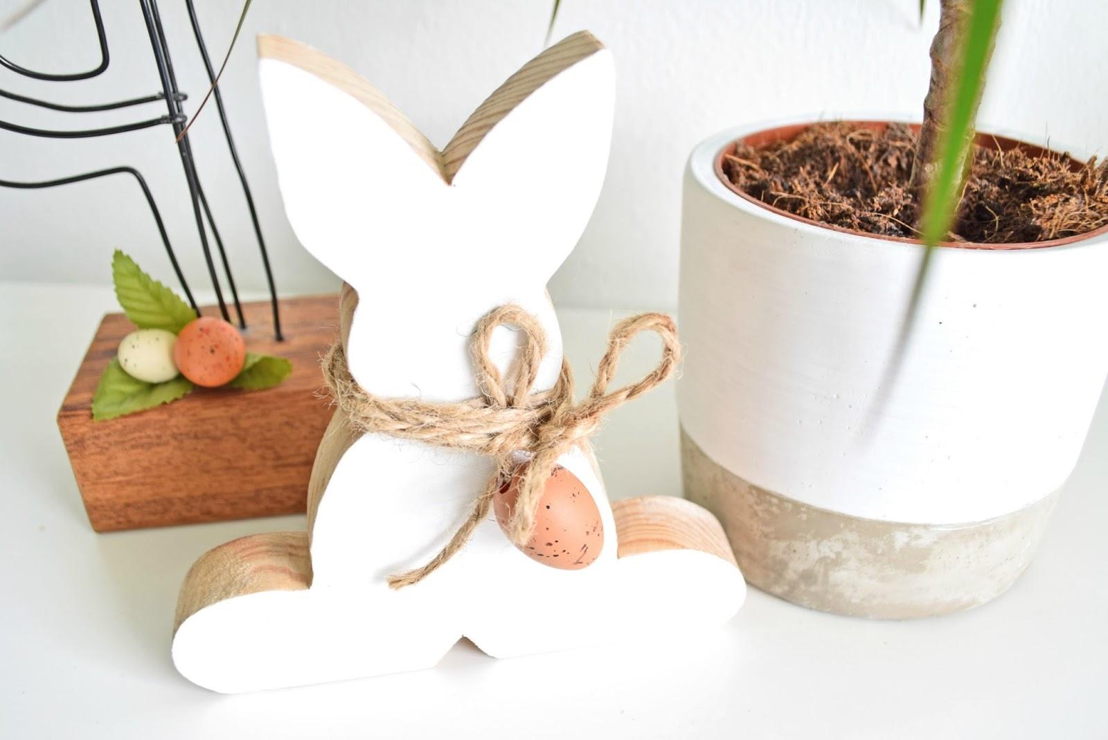 Drewniany króliczek