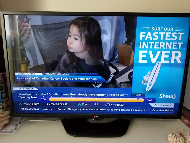 Baby's First Haircut on Global TV