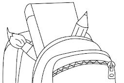 Mewarnai Gambar Pensil
