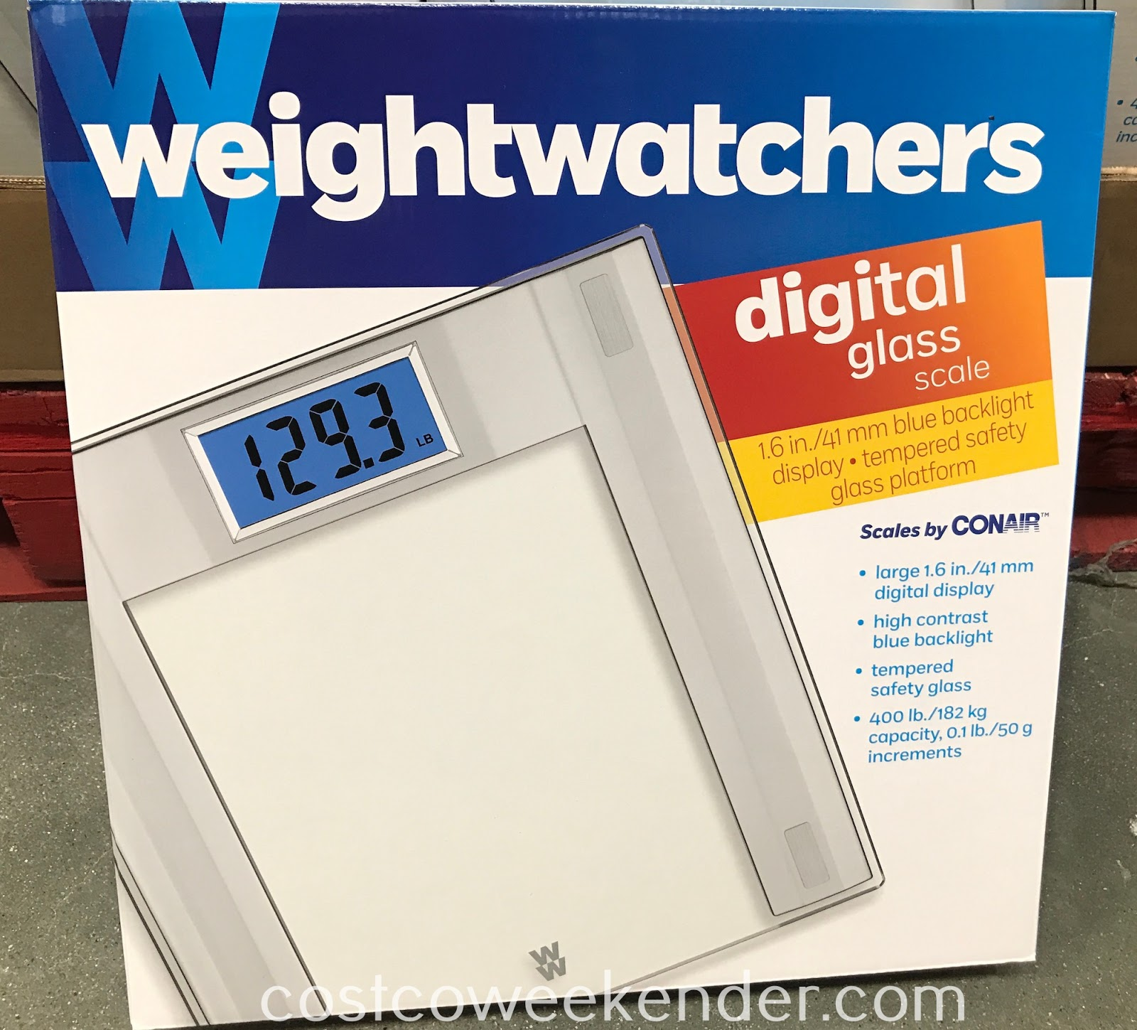 Costco 1170723 - See if your dieting is working with the Weight Watchers Digital Glass Scale