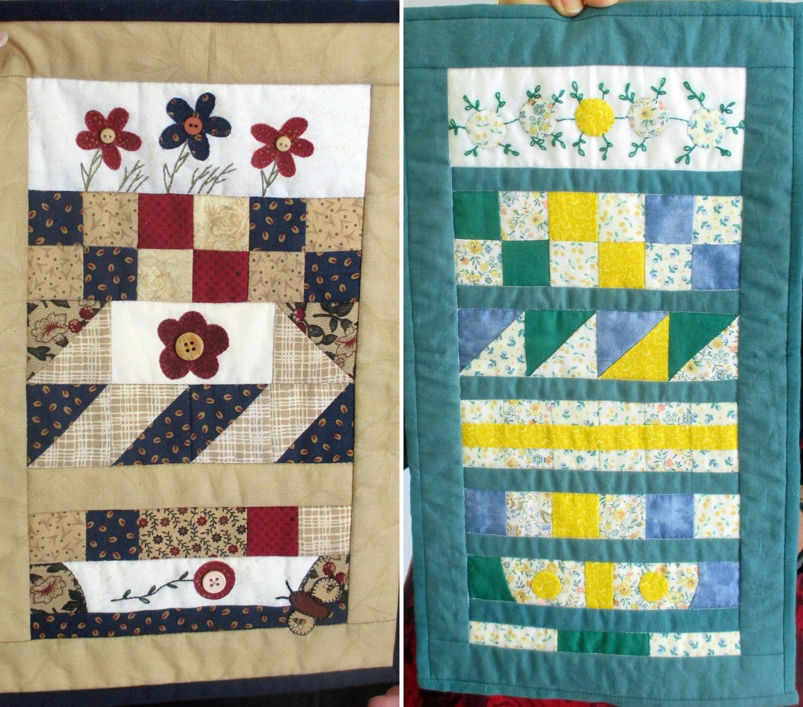 Sew Annie Sew Miniature Row Quilts