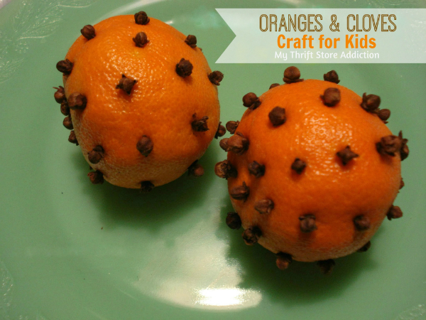 Cloved oranges