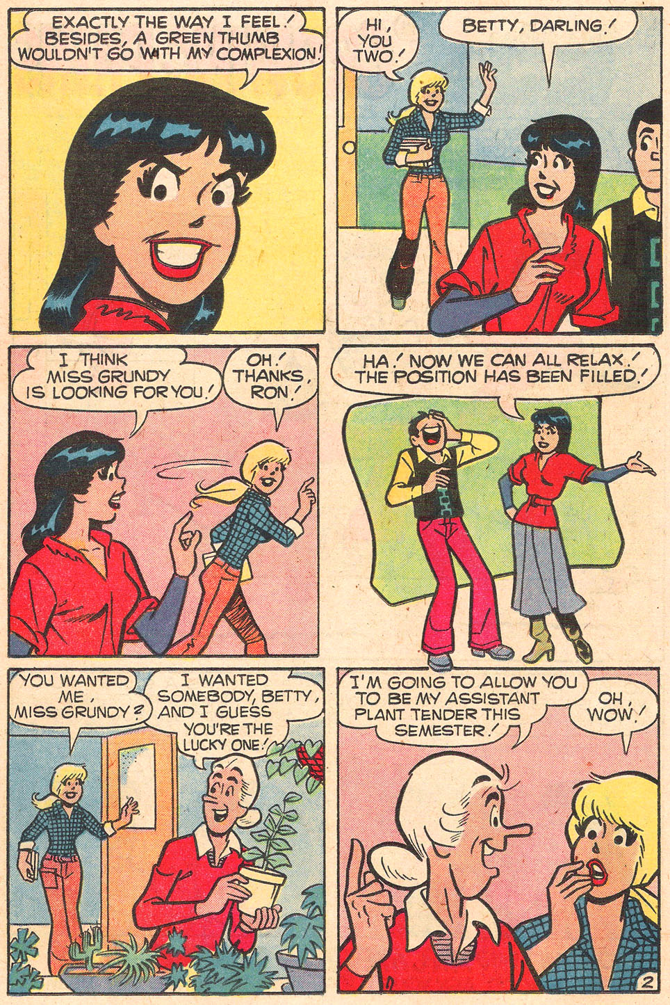 Read online Archie's Girls Betty and Veronica comic -  Issue #278 - 14