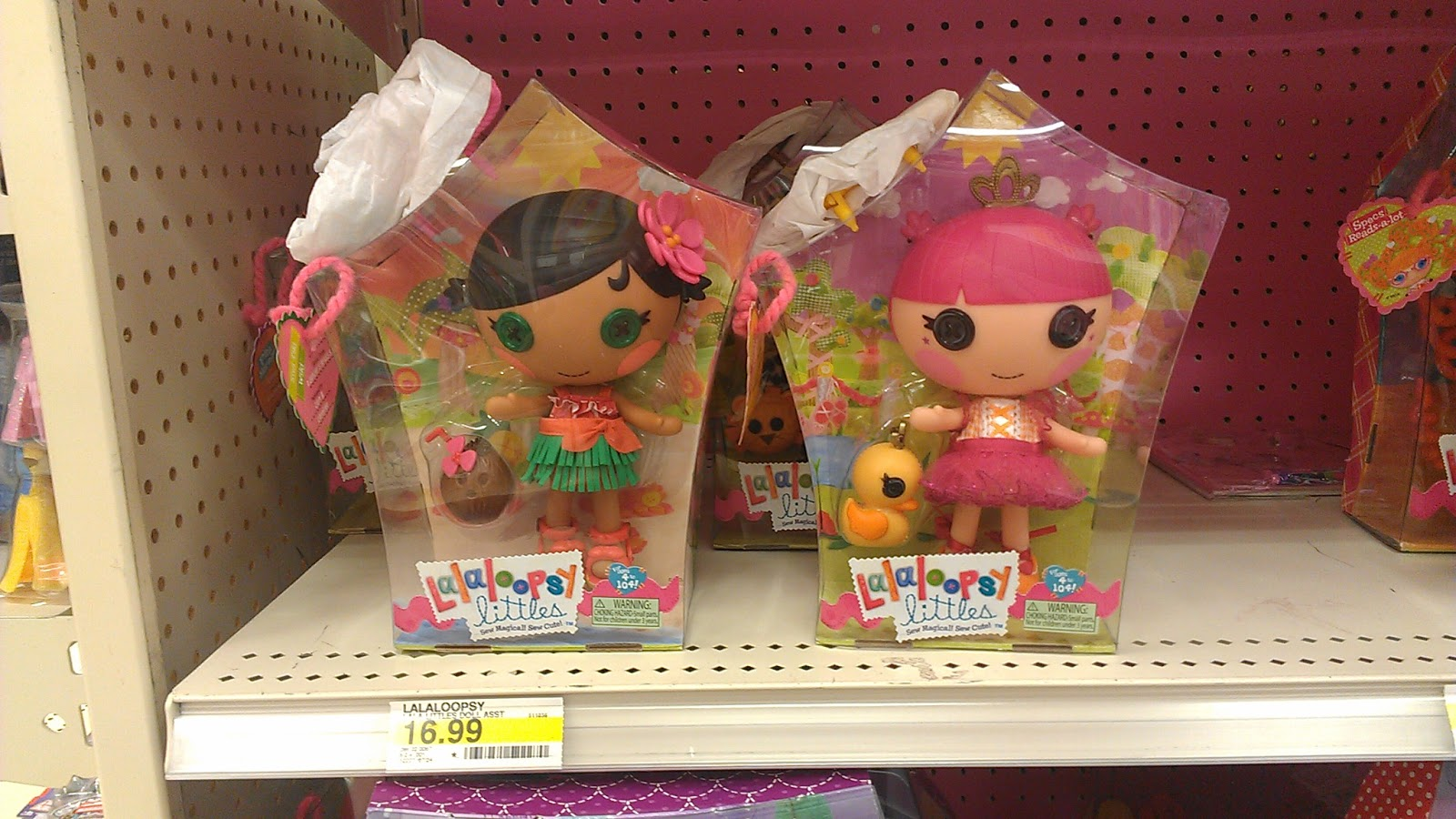 Silly Lala in Savannah: Target New Lalaloopsy Littles